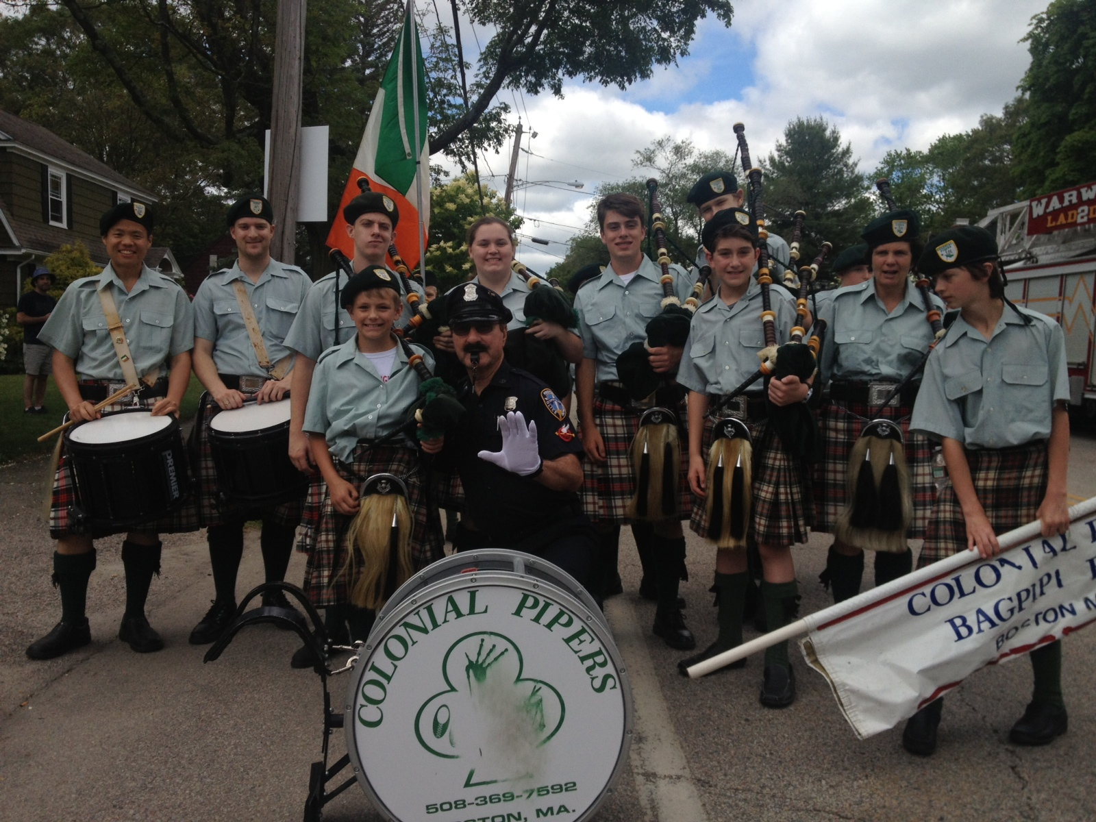 Who says Pipers don't have fun!?